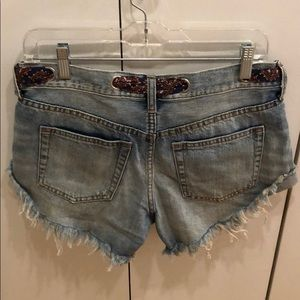Free People Shorts - Free people denim shorts- size 26